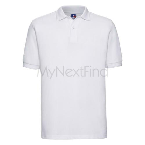 Russell Hard-Wearing 60C Wash Polo