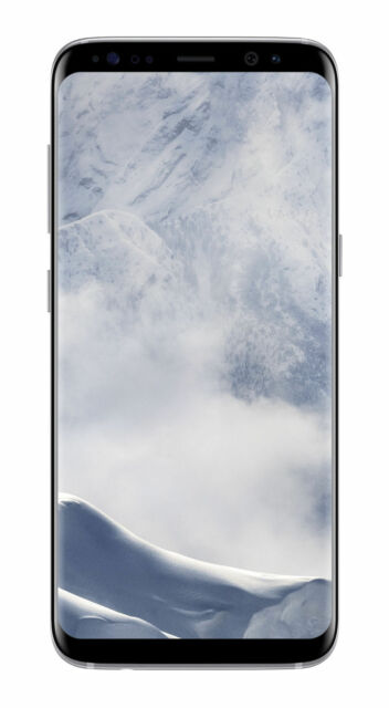 Samsung Galaxy S8 SM-G950 - 64GB - Arctic Silver (Unlocked) Smartphone (SM-G950…