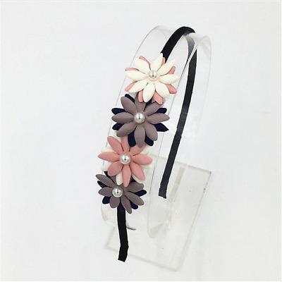 Damen Haarschmuck Haarband Kranz Perlen Silber Hochzeit NEU Kostenloser Versand