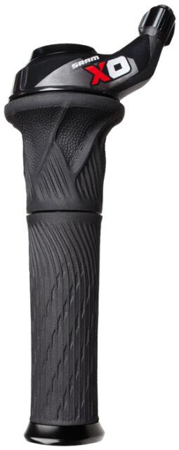 SRAM X0 10 speed Rear Twist Grip Shift Shifter Right XO X.0 - Black/Red