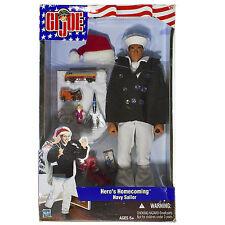 2002 Hasbro GI JOE Hero's Homecoming Navy Sailor 12in. Action Figure