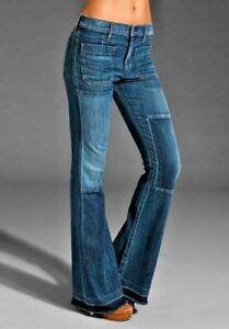 Riviera Taglie Jeans Citizens Vintage Nuovo Patchwork Humanity Svasati Of HwIgqx8f