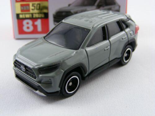 1//66 Takara Tomy tomica #81 Toyota rav4 en gris
