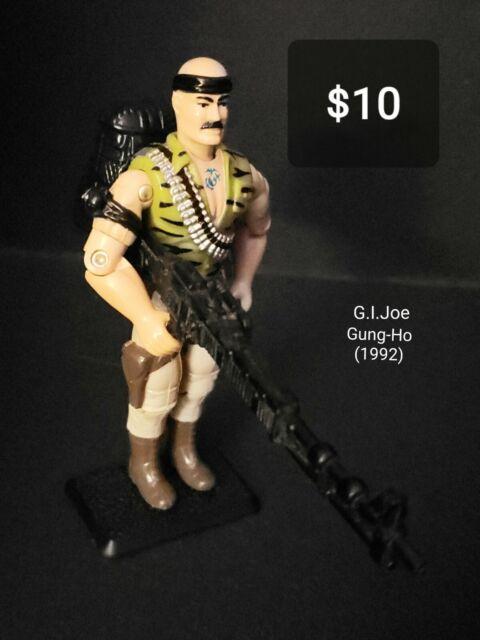 1983 G.I Joe Snow Job Figure Head Replacement Part