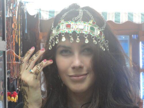 Vintage Wedding Bridal Moroccan Berber Beauty Queen Princess Crown