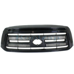 For 10-13 Tundra SR5 Pickup Truck w/o Sport Package Front Grille Assembly Black