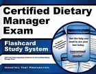 Certified Dietary Manager Exam Flashcard Study System 9781609712945 Cards