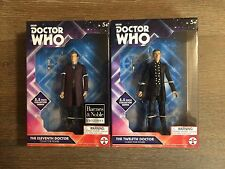 """Doctor Who Lot Of 2 5.5"""" Collector Figures: The Eleventh Doctor & Twelfth Doctor"""