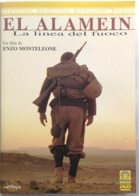 Dvd El Alamein - La linea del fuoco - Easy collection 2002 Usato