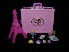 EUC 100% Complete Vintage Polly Pocket Polly in Paris 1996