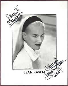 Jeans Kasem, Schauspielerin, Signiert 20.3cm x 25.4cm Foto, COA, Uacc Rd 036