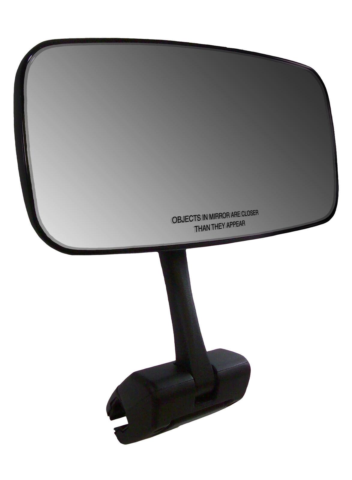Universal 17.8cm X 35.6cm Marina Espejo con Deluxe Pieza Fundida Aluminio