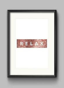 Relax-Motivational-Inspirational-Quote-Poster-Print-Wall-Art