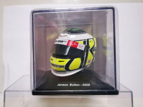 JENSON BUTTON 2009 CASCO HELMET 1//5SPARK EDITIONS