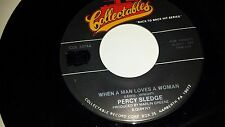 """PERCY SLEDGE When A Man Loves A Woman / Out In Left COLLECTABLES 3374 45 7"""""""
