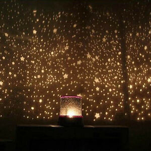 4LED Starry Night Sky Projector Lamp Kids Gift Romantic Star light