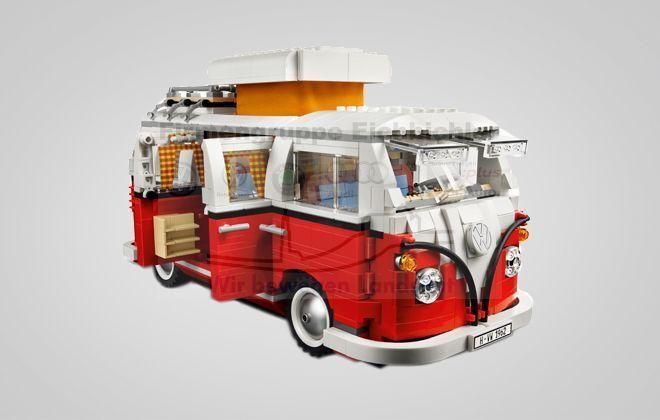 vendita outlet online ORIGINALE VOLKSWAGEN 211099320 211099320 211099320 bl9 VW LEGO bulli t1 PULMINO Rosso Bianco 1962 NUOVO  lo stile classico