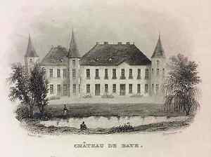 The-Castle-of-Baye-First-half-Xixth-Marl-Champagne-Ardenne