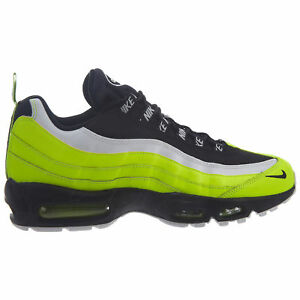 Details about Nike Air Max 95 Premium Mens 538416 701 Volt Glow Black Running Shoes Size 11