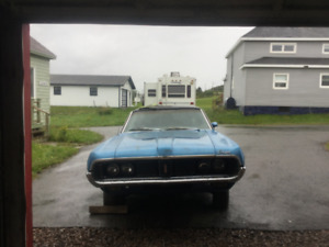 1969 COUGAR XTR PROJECT CAR OR PARTS CAR with title