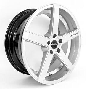 Seitronic-RP6-Hyper-Silver-Alufelge-9-5x19-5x112-ET35-VW-Passat-Variant-3C-B8-3G