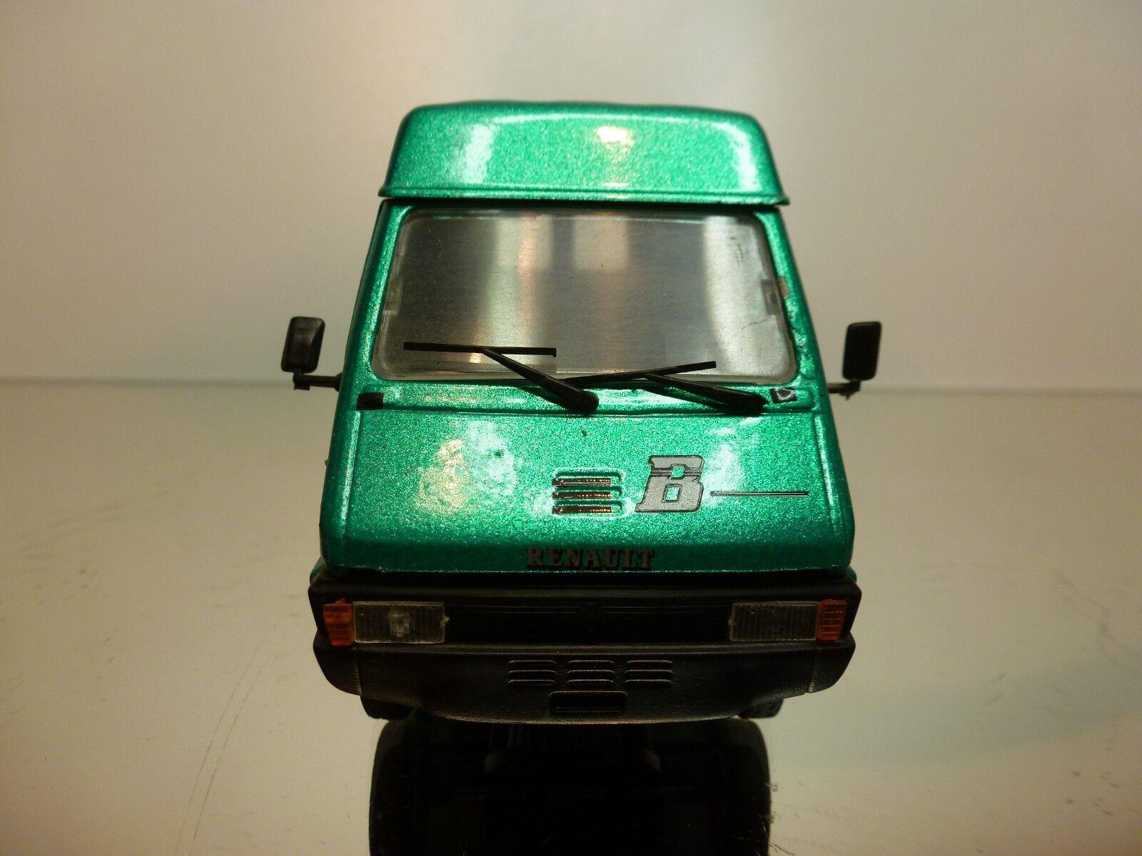 ELIGOR RENAULT MASTER MASTER MASTER B110 VAN 1985 - GREEN METALLIC 1 43 - EXCELLENT - 00 743030