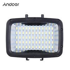 Andoer Waterproof LED Video Light Fill-in Lamp 1800LM for GoPro Hero DSLR Camera