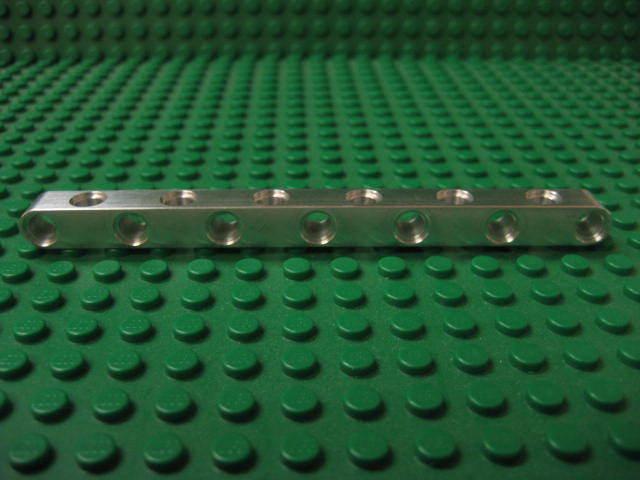 Works with Lego Technic kits. 31 unit long aluminum construction beam SALE