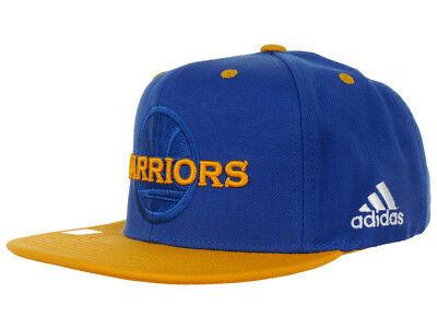 Adidas NBA Golden State Warriors Flat Brim Snapback Cap Cap | eBay