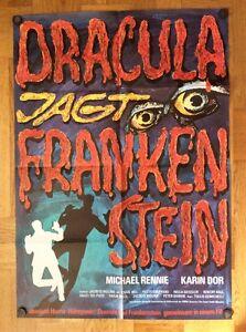 Dracula-jagt-Frankenstein-Kinoplakat-039-70-Michael-Rennie-Karin-Dor-Horror