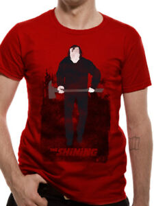Stanley-Kubrick-039-s-The-Shining-039-Jack-With-Axe-039-T-Shirt-Official-Merch