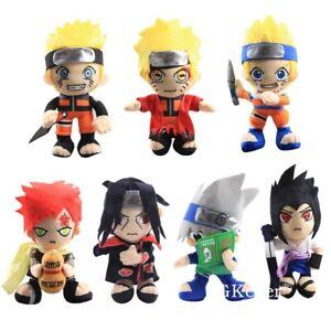 Naruto-Uzumaki-Naruto-Uchiha-Sasuke-Itachi-Hatake-Kakashi-Gaara-Munecos-De-Peluche