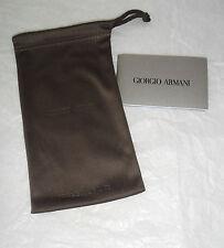 GIORGIO ARMANI : Etui/pochette microfibre pour lunettes (SUNGLASSES POUCH)