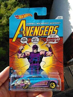 Hot Wheels Purple Passion azul Hawkeye The Avengers 2//7 nuevo//en el embalaje original Marvel HW auto