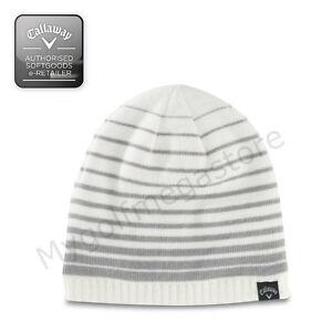 Callaway Golf Winter Beanie Hat in White Grey - Mens   Womens ... 0d37efa6241