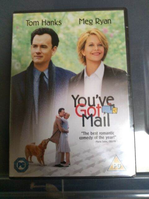 You've got mail dvd - brand new sealed packaging rated PG