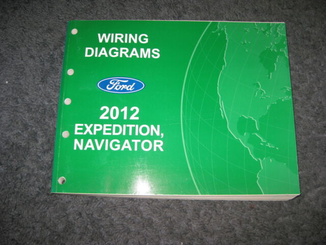 2012 Ford Expedition Lincoln Navigator Wiring Diagrams Repair Service Manual