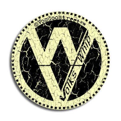 VW RAT LOOK STICKER OLD SCHOOL VINTAGE, vinyl self adhesive, quality print, new