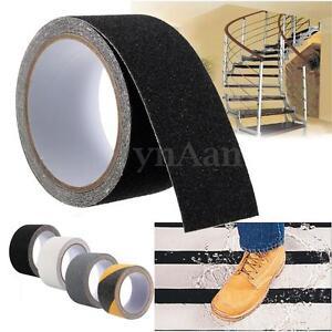 5cmx3m Anti Slip Tape Roll Non Slip Strips High Grip Sticker Floor Safety Grit