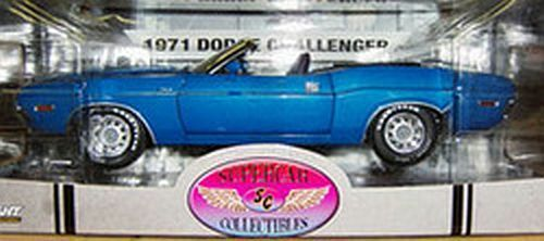 1971 dodge challenger b­5 blaue 1,18 supercars 50808