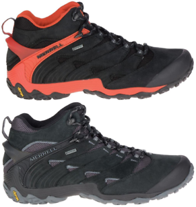 MERRELL Chameleon 7  Mid Gore-Tex Outdoor Hiking shoes Boots Mens All Size New  fast delivery