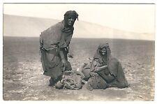 Morocco Desert of MOGADOR Rast in der Wüste Marokko * Vintage 10s Real Photo PC