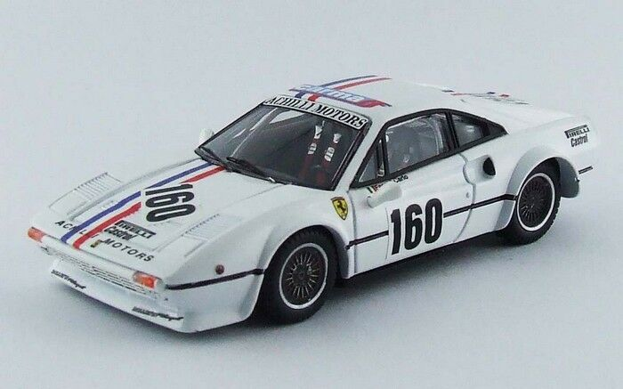 Best  MODEL - Ferrari 308 GTB championnat d'Italie de vitesse CIV 1982 1 43
