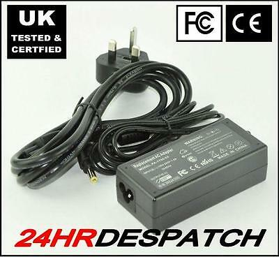 Ac Adapter charger For advent n270 N-270 0225A2040 laptop Netbook power 40W