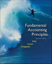 Fundamental Accounting Principles: Volume 1 (Chapters 1-12) Kermit D. Larson, B