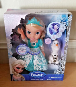 ede1d8c1f0 Disney Frozen Snow Globe Elsa Musical and Lights up Doll New in Box ...