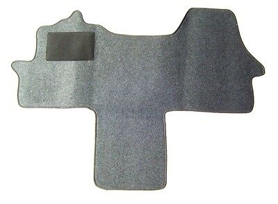 Fahrerhausteppich Fußmatte für Citroen Jumper II  Typ 250 Baujahr ab 2006 anthra