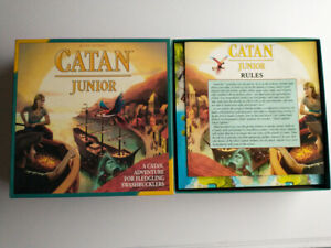 Catan Junior Board Game by Klaus Teuber & Mayfair Games - Complete, Barely Used
