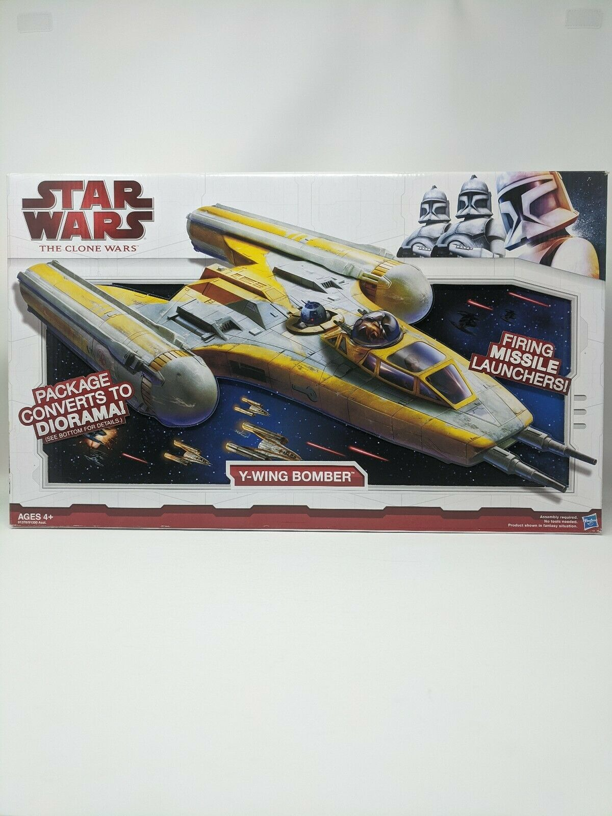 Star Wars The Clone Wars Y-Wing Bomber 2009 Hasbro