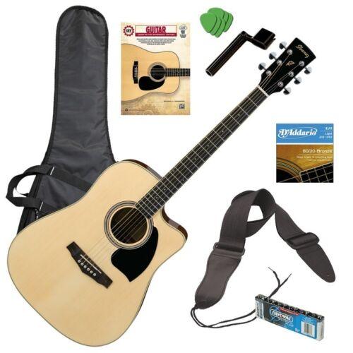 Ibanez PF15ECE Acoustic-Electric Guitar - Natural PERFORMER PAK